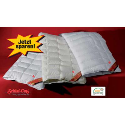 Антиаллергенное одеяло F.A.N. Schlafgut Natur Cotton 200x220
