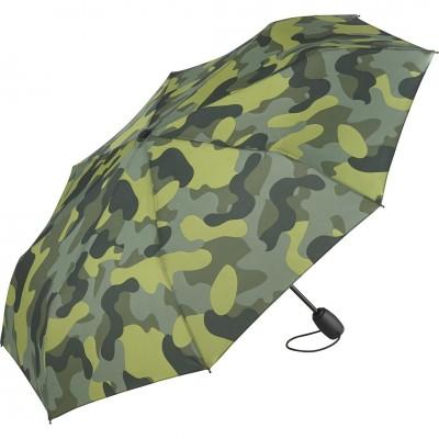 Складной зонт Fare 5468 оливковый камуфляж