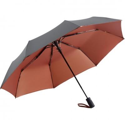 Складной зонт Fare 5529 серый/медный