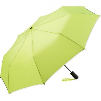 Складной зонт Fare 5547 неоновый желтый
