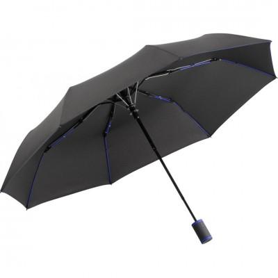 Складной зонт Fare 5583 антрацит/синий