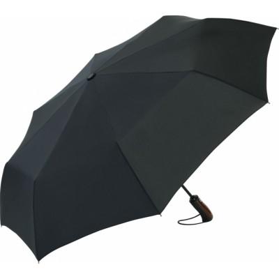 Складна парасолька Fare 5663 чорна в подарунковій коробці