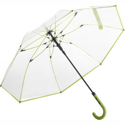 Зонт-трость Fare 7112 прозрачный/лайм