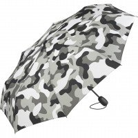 Складна парасолька Fare 5468 сірий камуфляж