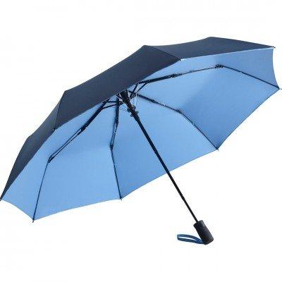 Складной зонт Fare 5529 синий/голубой