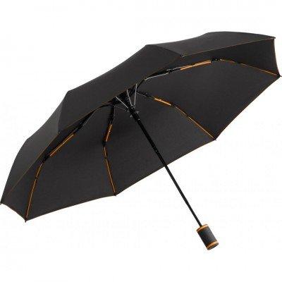 Складной зонт Fare 5583 антрацит/оранжевый