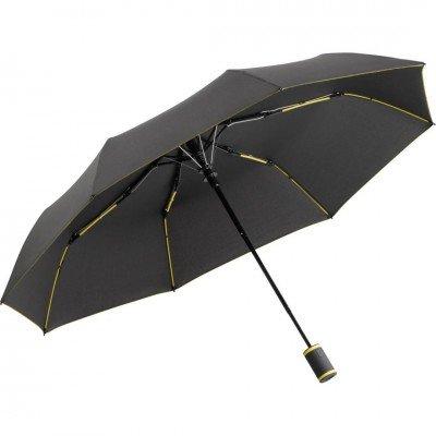 Складной зонт Fare 5583 антрацит/желтый