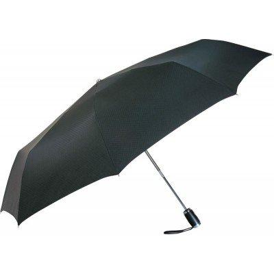 Складной зонт Fare 5605 черный в подарочной коробке