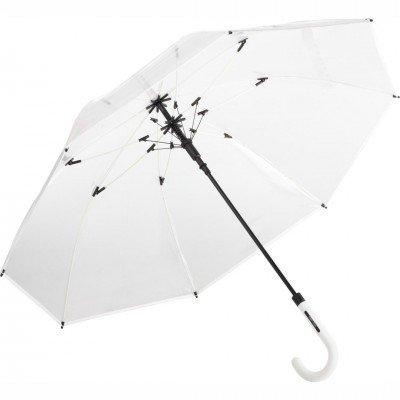 Зонт-трость Fare 7112 прозрачный/белый