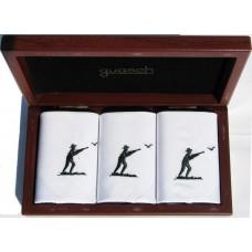 Чоловічі носові хустинки Guasch Art box 50 CAZ