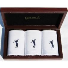Чоловічі носові хустинки Guasch Art box 50 GOLF