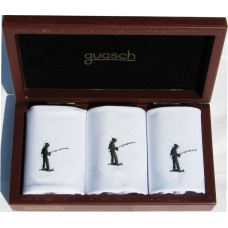 Чоловічі носові хустинки Guasch Art box 50 PESCA