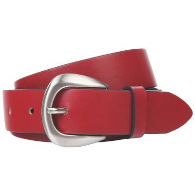 Ремінь жіночий The art of belt 40132 червоний