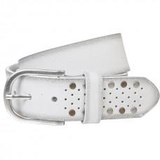 Ремень женский The art of belt 40135 белый