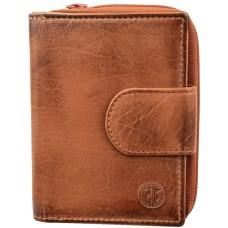 Жіночий гаманець Lindenmann 91102 коньячний