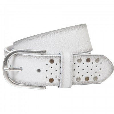 Ремінь жіночий The art of belt 40135 білий