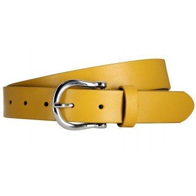 Ремінь жіночий The art of belt 40220 жовтий