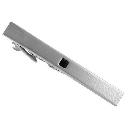 Затискач для краватки Lindenmann 73095 з кристалом