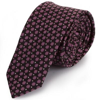 Краватка поліестерова вузька оселедець Schönau-18