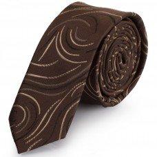 Краватка поліестерова вузька оселедець Schönau-06