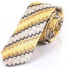 Краватка шовкова вузька оселедець Schönau - 22